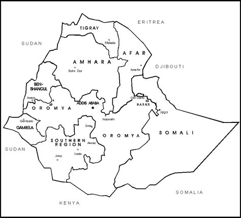 ethiopia map coloring page map of north and south america for kids az coloring pages