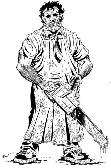 Leatherface Coloring Pages Google Search Coloring | leatherface coloring pages google search coloring