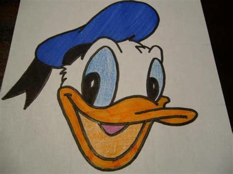 dibujo del el pato donal c 243 mo dibujar la cara de pato donald 9 pasos uncomo