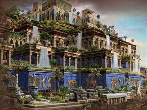 Imagenes Jardines Babilonia | 3 maravilla del mundolos jardines colgantes de babilonia