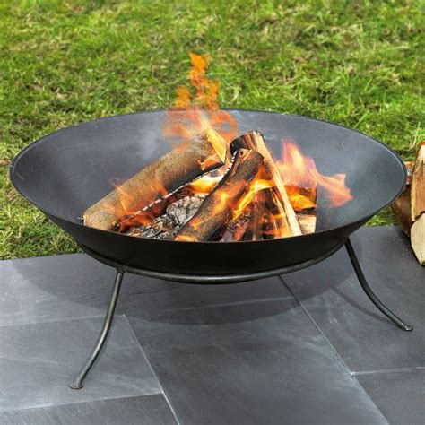 feuerschale keramik garten feuerschale aus eisen 60 cm 216 schwarz test