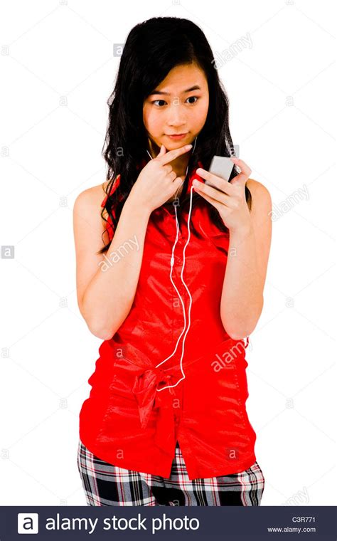 beautiful in white mp3 download index beautiful woman listening to music on a mp3 player