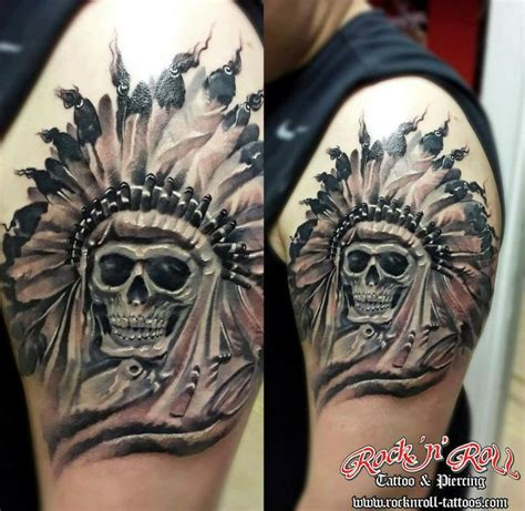 indian chief skull tattoo indian chief skull hubby things