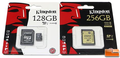 Memory Micro Sd 256gb kingston class 10 uhs i sdxc 256gb and microsd 128gb review legit reviewskingston doubles