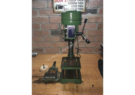 used bench drill used toolmac toolmac 5 speed bench drill press pedestal