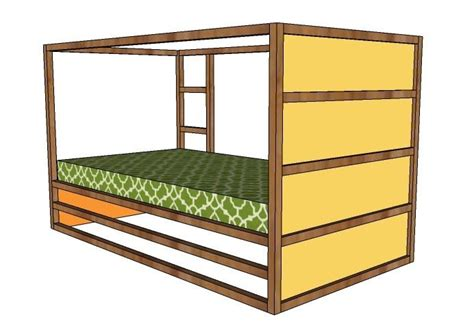 Fort Bunk Bed Plans 25 Best Ideas About Fort Bed On Pinterest Kid Beds Bunk Bed Fort And Bed Design
