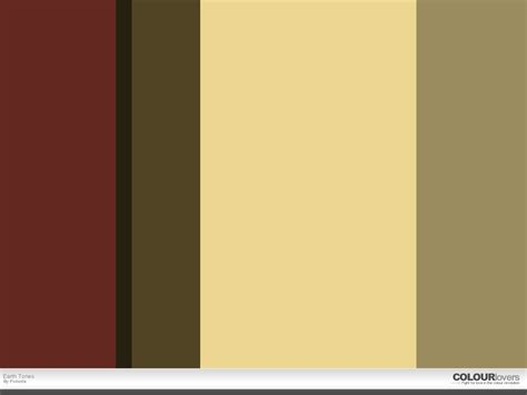 what colors are earth tones nursery color scheme earth tones fun and homey ideas