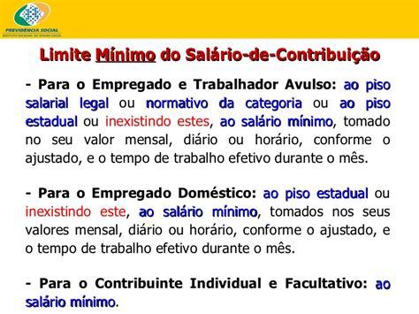 Valor Dosalario Minimo Para Empregafo Domestico Em Sao Paulo2016 | contribui 231 245 es inss professor leandro