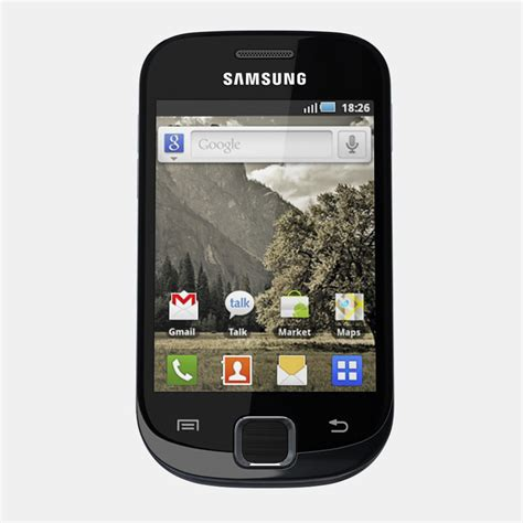 samsung mobile phone model samsung galaxy fit mobile phone 3d model