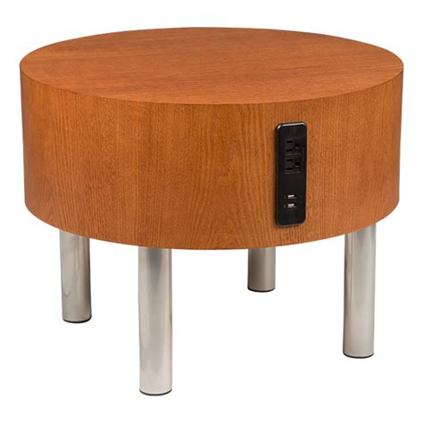 table with outlets learniture side table w electrical outlet usb at school outfitters