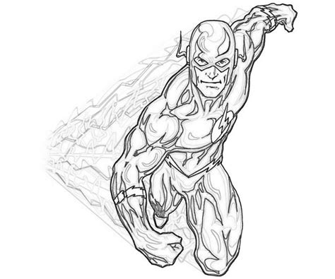Get This Free Flash Coloring Pages 72ii22 Coloring Page Websites