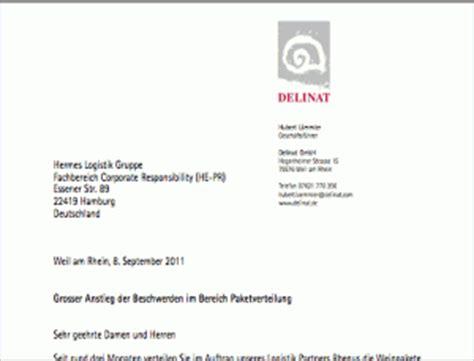 Brief Schweiz Wie Lange Fragen An Hermes Delinat