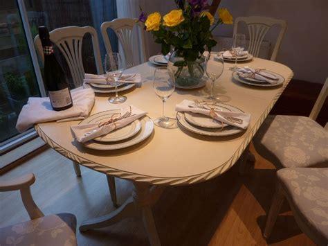 shabby chic extending dining table alasweaspire