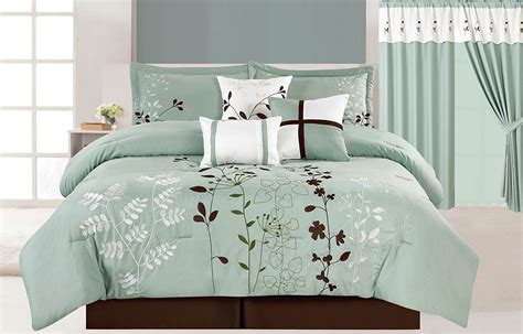 aqua comforter queen brown and aqua bedding turquoise and brown bedding bed in
