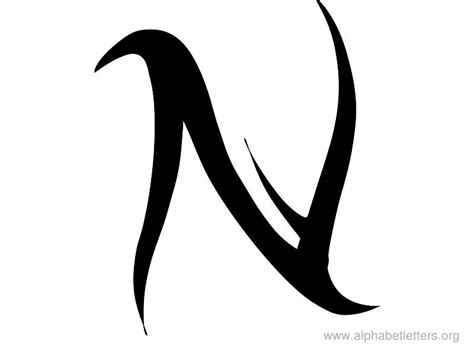 letter n tattoo designs cool letter n designs letters exle