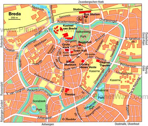 breda netherlands on map 10 top tourist attractions in breda planetware