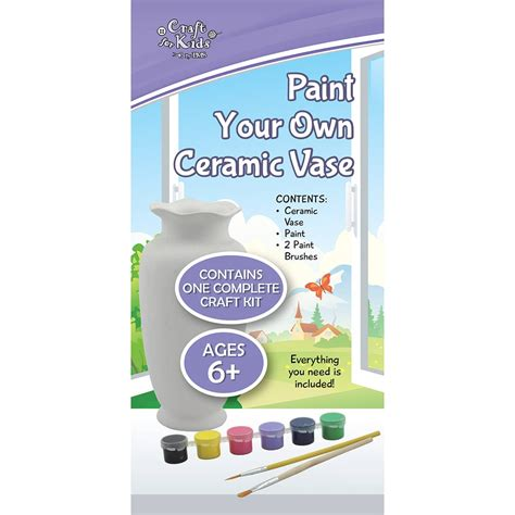 Paint Your Own Vase by Paint Your Own Ceramic Vase Bms Wholesale