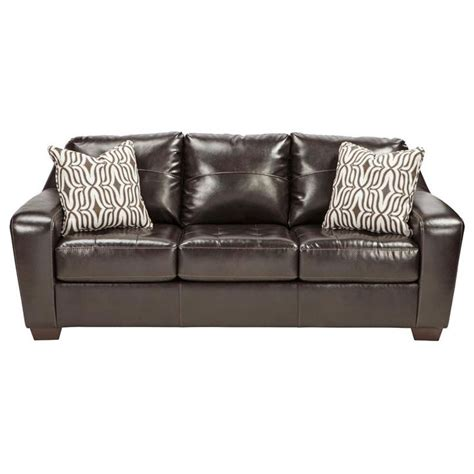 ashley brown leather sofa 17 best ideas about ashley leather sofa on pinterest