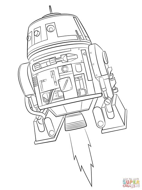 free coloring pages star wars rebels star wars rebels chopper coloring page free printable