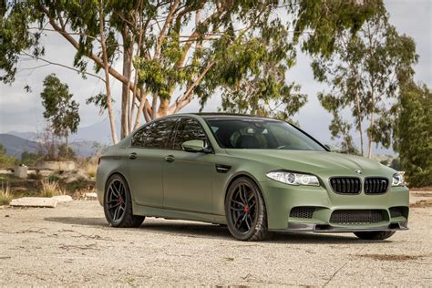 olive green bmw if anything a matte green bmw m5 is certainly