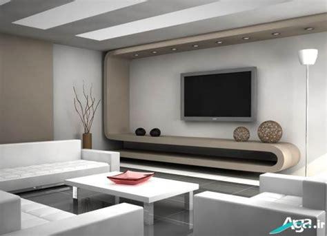 مدل میز تلویزیون کلاسیک با طراحی ساده و شیک