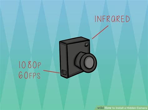 how to install a hidden camera in your bathroom how to install a hidden camera with pictures wikihow