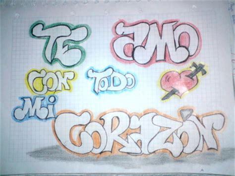 imagenes para dedicar que digan te amo im 225 genes de graffitis que digan te amo im 225 genes chidas