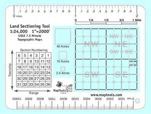 How Is A Section Of Land by Maptools Product Land Sectioning Tool For 1 24 000