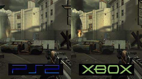 Gamis Black black ps2 vs xbox graphics comparison comparativa