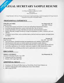 resume examples for executive secretary 1