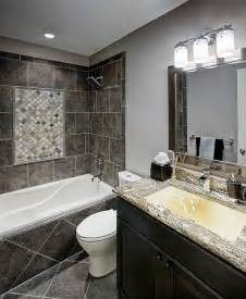 ideas for remodeling small bathroom grey small bathroom remodeling ideas with cabinet storage