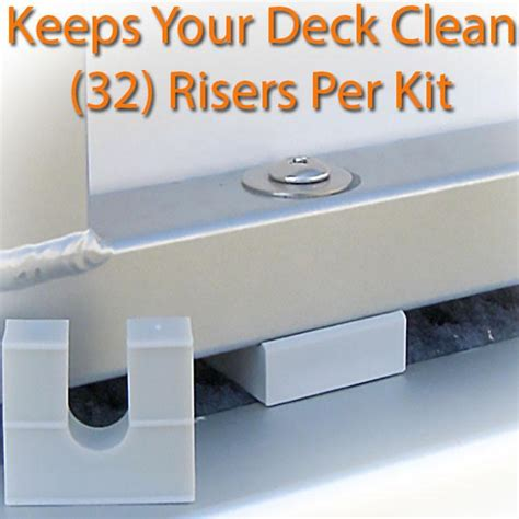 how to clean the sides of a pontoon boat pontoon fence riser kit pontoonstuff