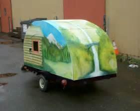 home built trailer plans teardrop trailer plans how to build a cheap cer do
