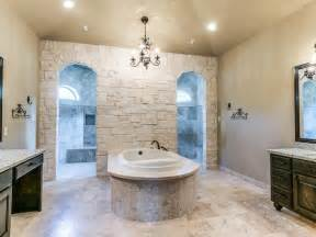 Custom Bathrooms Designs Custom Bathroom With Walk Through Shower Yep That S What He Likes Bathroom