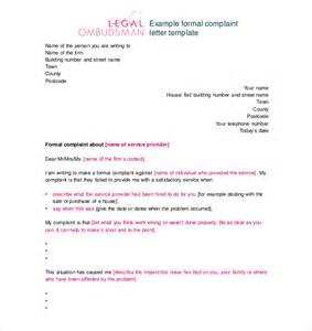Complaint Letter About Misbehaviour Of Staff Complaint Letter Against An Employee On His Misbehaviour Sle Docoments Ojazlink