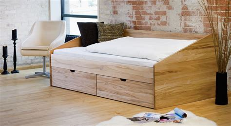 Bett Holz 90x200 by Sch 246 Nes Einzelbett Aus Buche In 90x200 Cm Bett D 228 Nemark