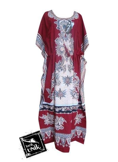 Daster Batik Prabu Tali Kecil baju batik daster kalong motif tumpal bulu gurda daster longdress babydoll murah
