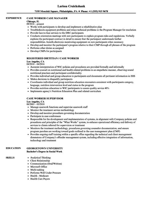 cover letter for caseworker caseworker resume eezeecommerce