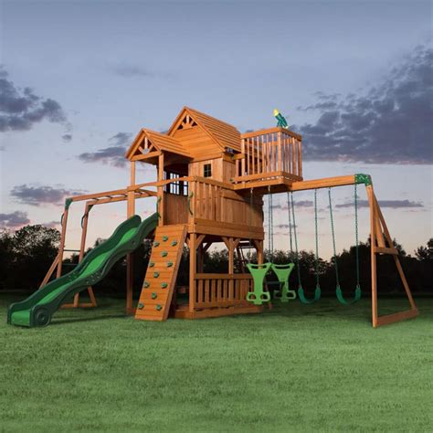 kids backyard play set backyard playground and swing sets ideas backyard play