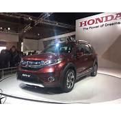 Upcoming New Car Launches India 2016 Honda Br V Auto Expo