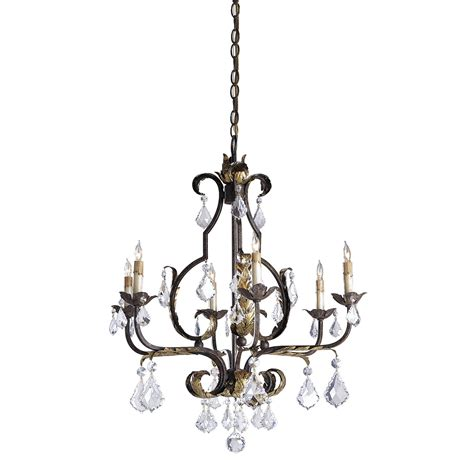 Tuscan Lighting by Currey Company 9828 6 Light Large Tuscan Chandelier
