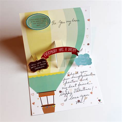 pop card pop card quot to the sky and beyond quot mowik