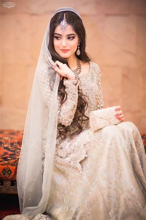 open hair   valima pakistani wedding dresses