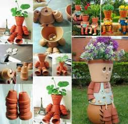 Homemade Flower Pots Ideas by Wonderful Diy Clay Pot Flower People