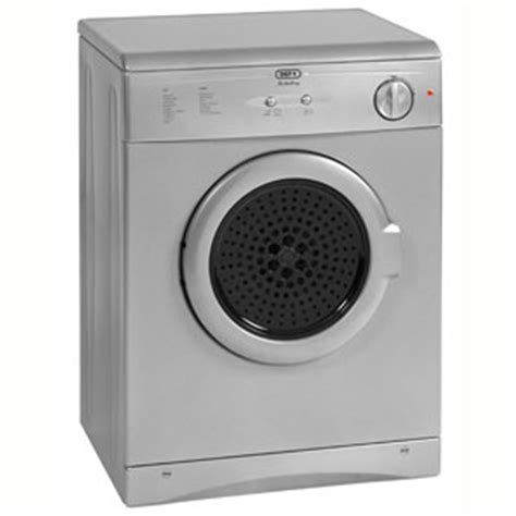 defy air vented tumble dryer metallic model dtd256