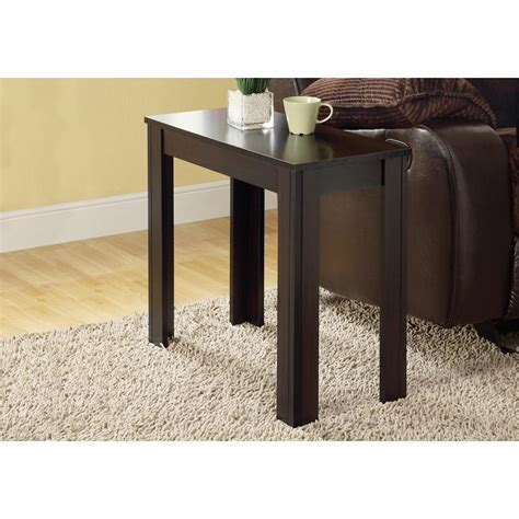monarch accent table cappuccino monarch specialties cappuccino side table i 3111 the