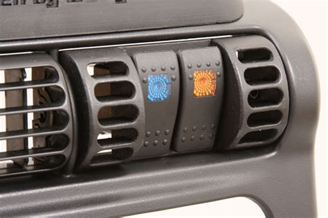 Jeep Tj Switch Panel Innovative New Switch Panel Makes Mounting Rocker Switches