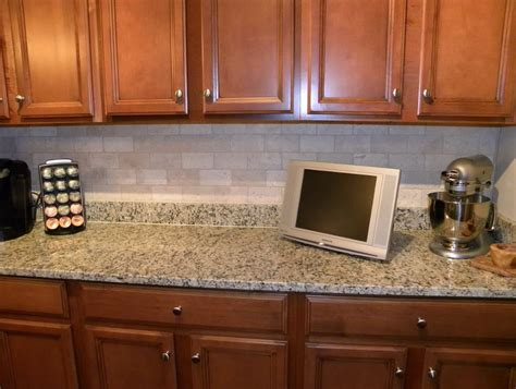 Inexpensive Kitchen Backsplash by Cheap Kitchen Backsplash Diy Home Design Ideas