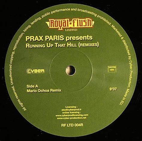 Running Up That Hill Mashup by Prax Running Up That Hill Remixes Vinyl At Juno