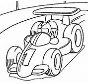 Race Car Coloring Pages 2 3